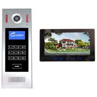 Quality 4 +2 wires 10 inch Building Video Door Phone intercom system smart home system video intercom for sale