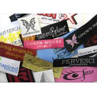 Quality high density garment woven label for sale