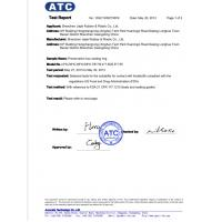 Shenzhen Jiajie Rubber & Plastic Co., Ltd. Certifications