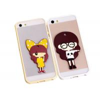 Quality Pad Printing Logo TPU Silicone Frame PC Phone Cases For 4.7 inch Apple iPhone 6 for sale