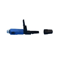 Quality Multimode SC UPC 90N 3.0mm Cable Optical Connector for sale