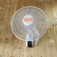 """Quality 16"""" 18"""" inch electric plastic wall fan with remote control for office and home appliances/white Ventilador de pared for sale"""