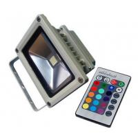 Quality 10W / 20W / 30W RGB Outside / Outdoor Led Flood Light lamps 100 - 240V, 900lm for Hotel for sale