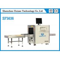Quality SF5636 X Ray Security Baggage Scanner UNIQSCAN Safety Dual Energy 40mm Steel Penetration for sale