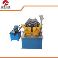 China C U Purlin Double Line Metal Stud And Track Roll Forming Machine Full Automatically on sale
