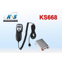 Best GSM850 / 900 / 1800 / 1900MHZ Vehicle GPS Tracker With RS232 Port Work With Handset For Two Way Voice Communication wholesale