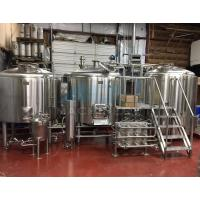 Quality 5bbl 500 Liters Brewery Brewhouse with Steam Direct Fire Electric Heating for sale