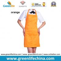 Quality Custom cheap cooking kitchen apron for promtion and advertisment good gift for cooks chefs for sale