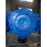 Quality Double Flanged Double Eccentric Butterfly Valve with Ductile  Iron or Casting Iron Body for sale