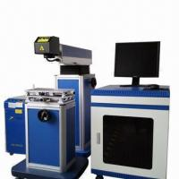 Best Semiconductor Diode-pumped Laser Marking Machine, Used to Engrave Metallic and Nonmetallic Material wholesale