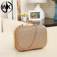 Quality Amazon hot selling elegant dinner party shiny ladies bags clutch bag evening women for sale