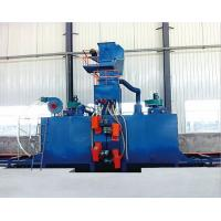 Quality I beam Steel structure steel shot blaster   blasting cabinet steel shot blasting for sale