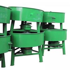 Quality 6. JQ350 mini automatic control pan type concrete mixer machine for sale