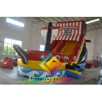 China Water Proof EN71 8.3*4*5.6m Inflatable Play Park With Slide on sale