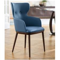 Buy Beautiful Porada Andy Carver Dining Chair Solid Canaletta Walnut Frame at wholesale prices