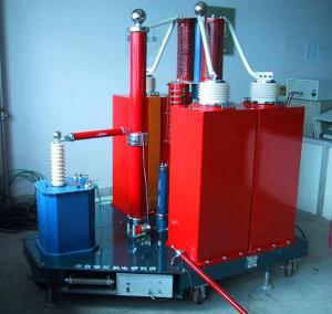 Electronic Impulse Voltage Generator System , High Voltage Testing Generator