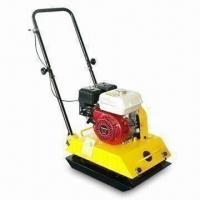 Quality Gasoline Plate Compactor with 6.5hp Maximum Matched Power, Available in Various Plate Sizes for sale