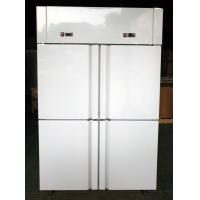 Quality Dual Temperature Solid Door Reach In Refrigerator / Commercial Reach In Refrigerator Freezer Combo for sale