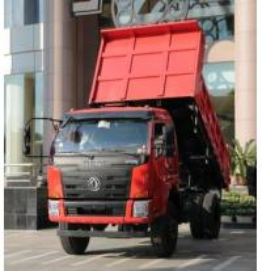 10 Tons 6 Wheel Dump Truck , 4*2 Light Dump Truck With Yuchai Engine