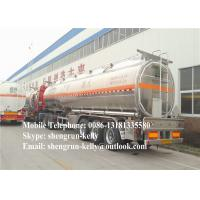 Oil transport tank trailer , fuel tanker semi trailer , 3 Axles fuel tanker trailer