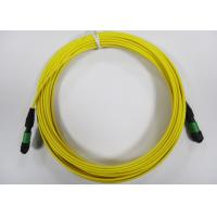 Best Flat / Round MPO / MTP fiber optic patch cables for 12core Ribbon Fiber Cable wholesale