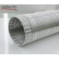 Quality Easy Install Semi Rigid Aluminum Duct Ventilation Flexible Ducting 150MM 6 Inch for sale