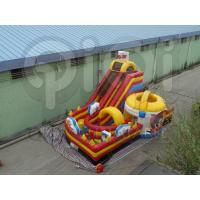 Quality Inflatable Tom and Jerry giant slide playground for sale
