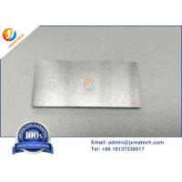 Quality WNiFe / WNiCu Tungsten Heavy Alloy Plate With Good Electrical Conductivity for sale