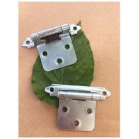 Quality Np Color Butterfly Flush Mount Cabinet Hinges Long Working Life High Durability for sale