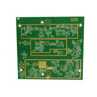 Quality 6 Layer Rogers4350B Fr4 Printed Circuit Board Industrial Control Function Board for sale