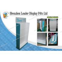 Best Merchandising Cardboard Hook Display Stands With Glossy Lamination wholesale