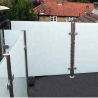 white laminated balcony railing glass cost.jpg
