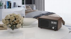 Quality Bluetooth Speaker with Alarm Clock Handsfree, Supports TF FM Aux Tws for Home for sale