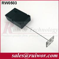 Quality Ipad Security TetherWith Sticking Metal Plate , Shop Retail Anti Theft Pull Box for sale