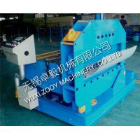 Quality 120 degree bending angle Corrugated Curving Machine with PLC Contol System 0-10m/min for sale