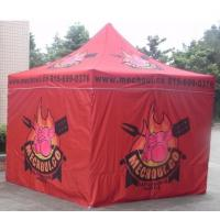 Quality Red 10x10ft Easy Folding garden Pop Up Gazebo Tent Dye Sublimation Printing for sale