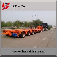 Best China made Multi axle 200 ton hydraulic modular low bed trailer wholesale