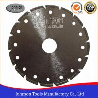 Quality Segmented Type Angle Grinder Diamond Blade , Electroplated Diamond Blades Clear Color for sale