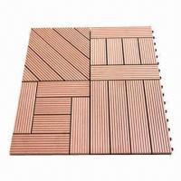Interlocking Outdoor Plastic Deck Tiles Images