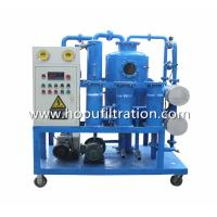 Buy Double Stage Vacuum Transformer Oil Purifier,Transformer Oil Purification Unit at wholesale prices