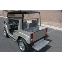 Quality Street Legal Electric Golf Carts Hammer Style Motorised Golf Carts With Big Head Lights for sale