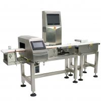Buy cheap Waterproof Combo Online Checkweigher And Metal Detector Machine Stable , ± 0.1g from wholesalers