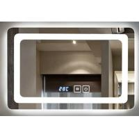 Buy cheap IP44 Wall Mounted Led Behind Mirror For Luxury Hotel , Frameless Bathroom Mirror from wholesalers