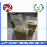 Quality Heat Vacuum Seal Bags For Rice , Three Side Transparent storage bags for sale
