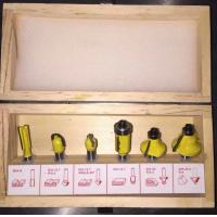 China Factory price 6pcs router bit set specially for wood processing on sale