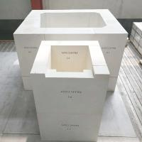Buy Refractory AZS blocks for glass furnace with high quanlity made in China at wholesale prices