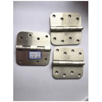 "Quality Sn Colo Heavy Duty Exterior Door Hinges Big Round 5/8"" Round Corner With Screws for sale"