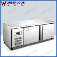 Buy 1.8m 201/304stainless steel kitchen commercial worktop freezer fridge refrigerator chiller at wholesale prices