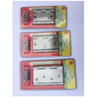 """Quality 3.5"""" One Pair  Blister Packing Hinge , Door Hardware Parts  400g Paper Card Box Material for sale"""