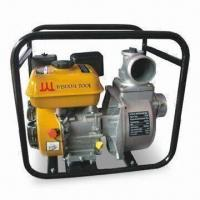 Quality Gas Water Pump with 28m Head, 395g/kWh Fuel and Three-hour Working Time for sale